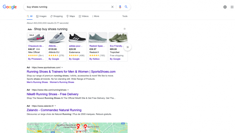 Buy shoes tractional search