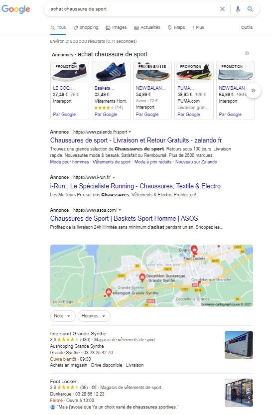 exemple recherche transactionnelle